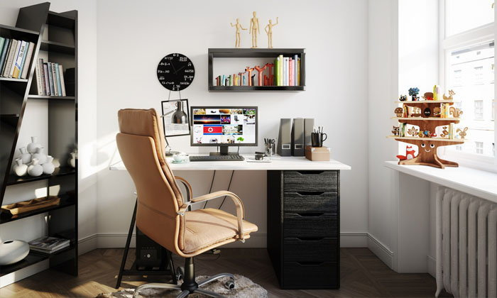 เทคนิคตกแต่งโต๊ะทำงานให้คุณรู้สึกอยากทำงาน