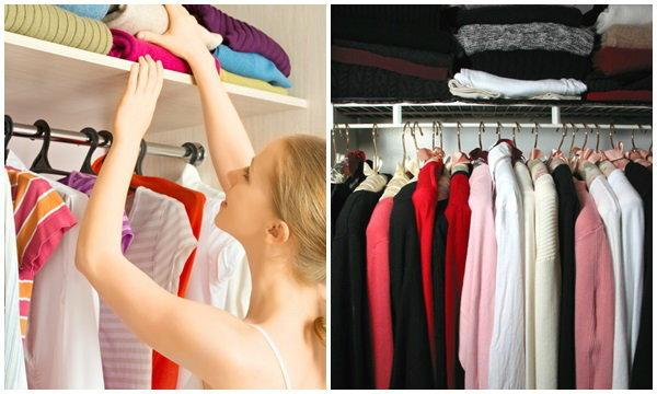 12 เทคนิคง่ายๆ จัดตู้เสื้อผ้า ใช้เวลาแป๊บเดียว
