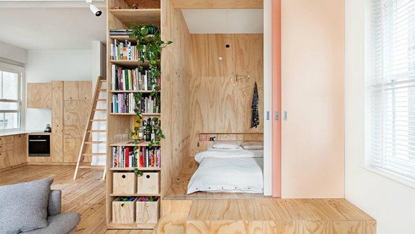 สุดทึ่ง ! เปลี่ยนอพาร์ทเมนท์ 1 ห้องนอน เป็น 2 ห้องนอน ง๊ายง่าย