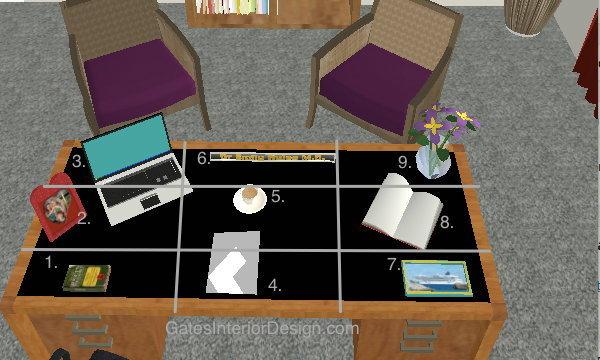 เคล็ดลับจัดการกับ 9 ตำแหน่งฮวงจุ้ยมงคลบนโต๊ะทำงาน