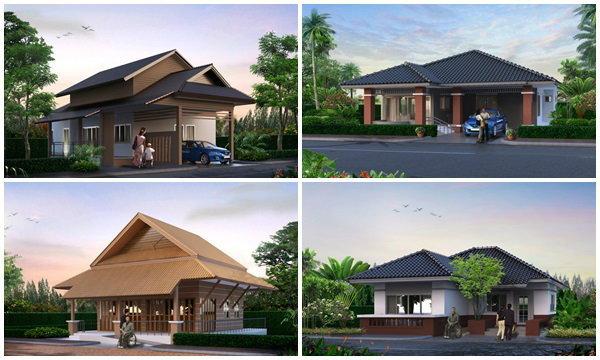 20 แบบบ้านพร้อมแปลน อยู่ง่ายแม้ผู้สูงอายุ ค่าก่อสร้างเริ่มต้นเพียง 6 แสน