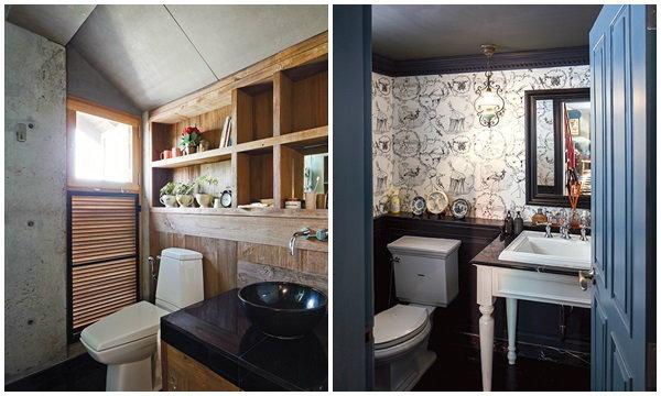 ทริคจัดห้องน้ำเล็กให้ปังมาก The Most of Tiny Bathroom