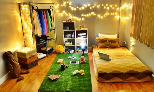 วัยรุ่นอยากแนว แต่งห้องแบบ Hipster บ้านๆ ด้วยของไม่กี่ชิ้น