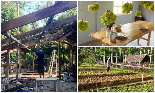 """สถาปนิกสร้าง บ้านใหม่ ให้พ่อ-แม่"""" ความฝันใหญ่โต จนเกิดเป็นฟาร์มสเตย์"""