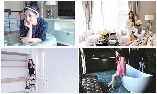 """รวม  6  """"บ้านใหม่""""  ดาราสาว ตลอดปี  58  ทั้งสวย ทั้งขยัน  จนได้บ้านหลังโต"""
