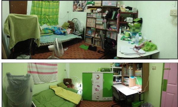 รีโนเวทห้องนอนเล็กๆ ที่แสนจะรก ให้น่านอนตามใจฉัน ทำเองคนเดียวตั้งแต่ต้นจนจบเลยจ้า (รูปเยอะนะคะ)