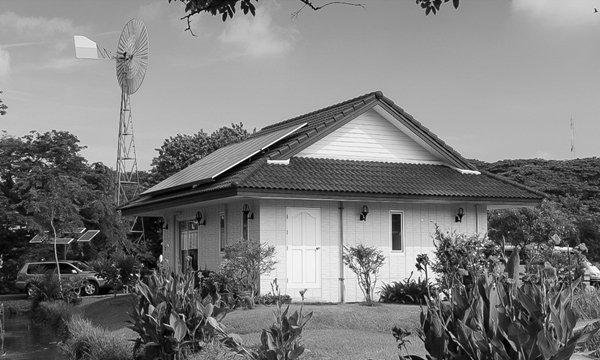 บ้านพลังงานแสงอาทิตย์ บ้านของพ่อ เพื่อทางเลือกการใช้พลังงาน