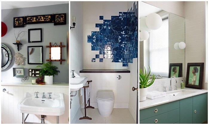 28 แบบห้องน้ำขนาดเล็ก ตกแต่งสวยงาม