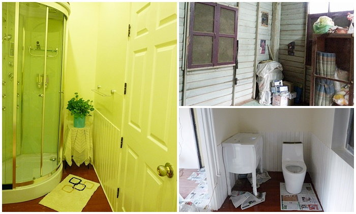 ทำห้องน้ำแบบคุณนายๆ บนบ้าน (ไม้) ให้แม่...ห้องเก็บของรกๆจะแปลงร่างเป็นห้องน้ำคุณนายได้แค่ไหนมาดูกันค่ะ
