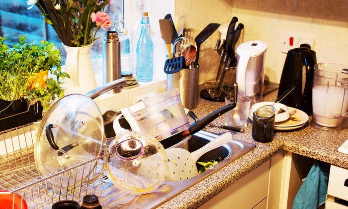 5 เคล็ดลับดี ๆ ในการทำความสะอาดครัวสกปรก