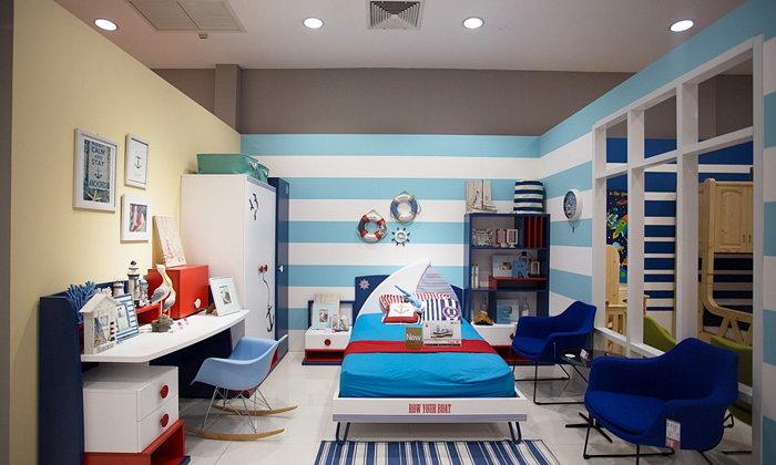 เติมสีฟ้าให้บ้าน สบายตาฟ้าหลังฝน