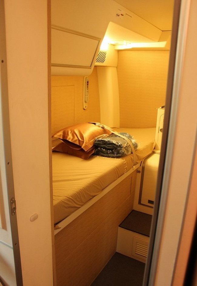 ห้องพักบนเครื่องโบอิ้ง 777