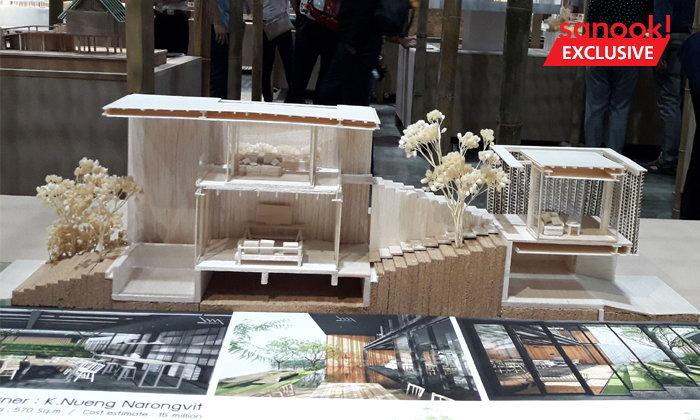 โมเดลแนะนำ บ้าน ห้องสมุด Co-working space ในงานสถาปนิก' 61 แจ่มทุกแบบ