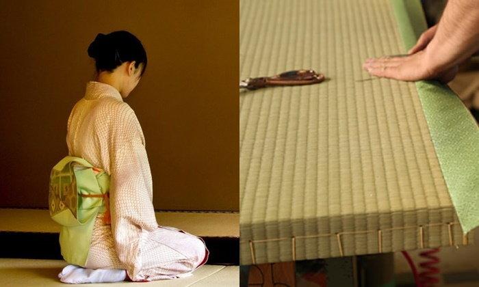 เสื่อทาทามิ ความเรียบง่ายที่สุดแสนจะวิเศษของบ้านแบบญี่ปุ่น