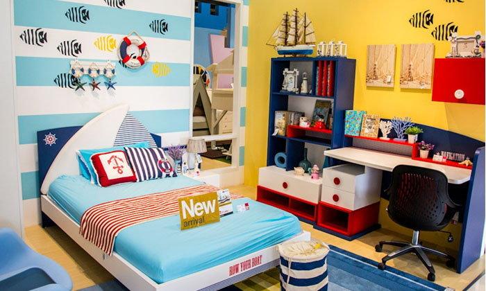 ตกแต่งพื้นที่เล็กๆ ให้เป็นห้องนอนเด็กน่านอน