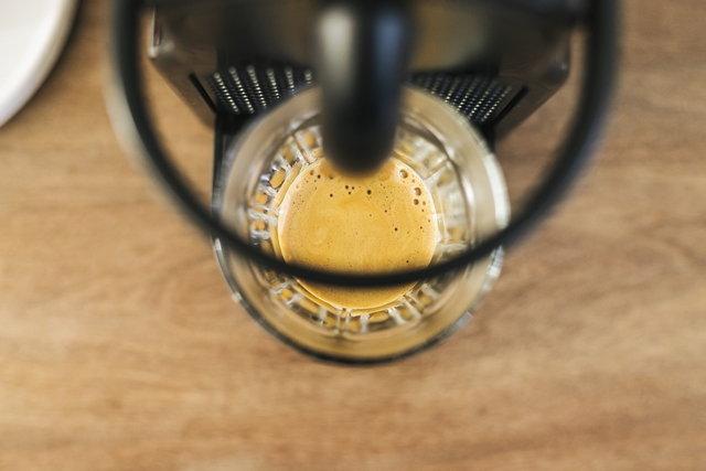 กาแฟ Nespresso จากเครื่องชงกาแฟแคปซูล
