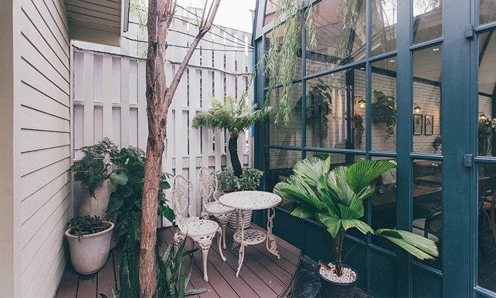 เชื่อมต่อพื้นที่ธรรมชาติระหว่างภายนอกและภายในบ้าน