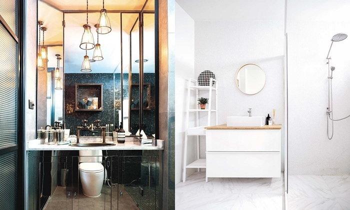 ไอเดียห้องน้ำไซส์เล็กในบ้านพื้นที่จำกัด