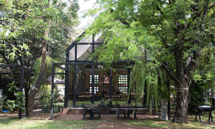 การออกแบบสถาปัตยกรรมที่ให้ธรรมชาติเป็นส่วนสำคัญ