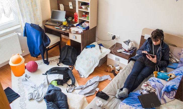 6 ผลกระทบอันตรายของการใช้ชีวิตในบ้านรกรุงรัง