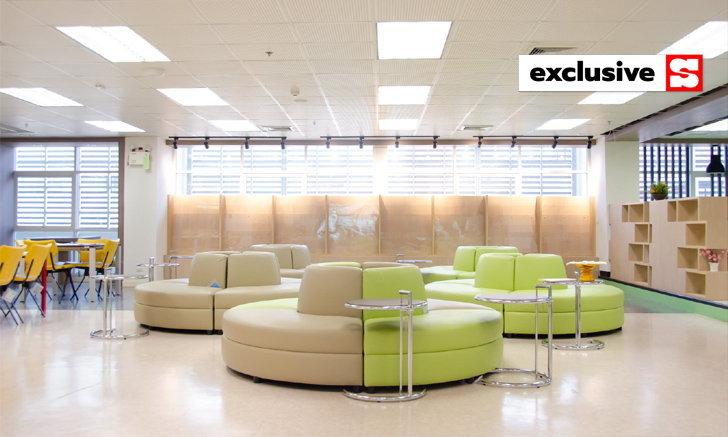 """ดีมาก เก๋มาก เปิดแล้ว """"ห้องสมุดวิทย์สุขภาพ"""" ม.นเรศวร มีที่นั่งอ่านแบบห้อยขาด้วย"""