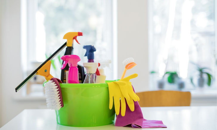 เลือกผลิตภัณฑ์ทำความสะอาดอย่างไรให้เหมาะกับของในบ้าน