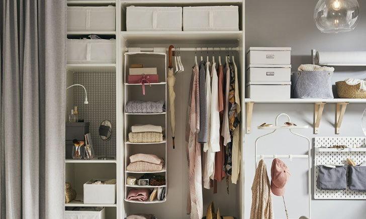 คัมภีร์สำหรับสาวๆ ออกแบบตู้เสื้อผ้าให้ตรงใจ ได้ทั้งดีไซน์และการใช้งาน