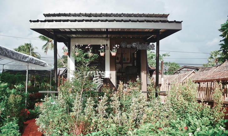 คาเฟ่เล็กๆ กลางสวน ของคนมีความฝันอยากทำร้านกาแฟ