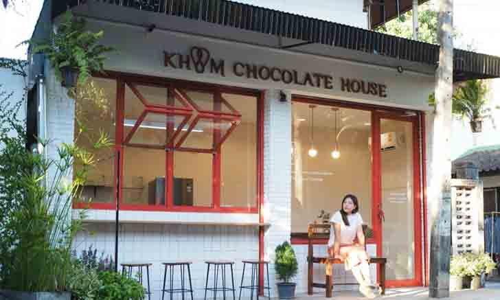 Khom Chocolatier House ร้านช็อกโกแลตเล็กๆ สไตล์ญี่ปุ่นกับความฝันของสถาปนิก
