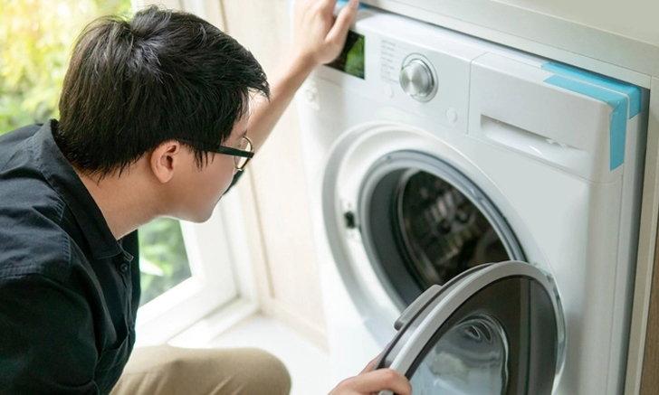 รวม 7 วิธีซ่อมเครื่องซักผ้า กับปัญหาที่พบบ่อย