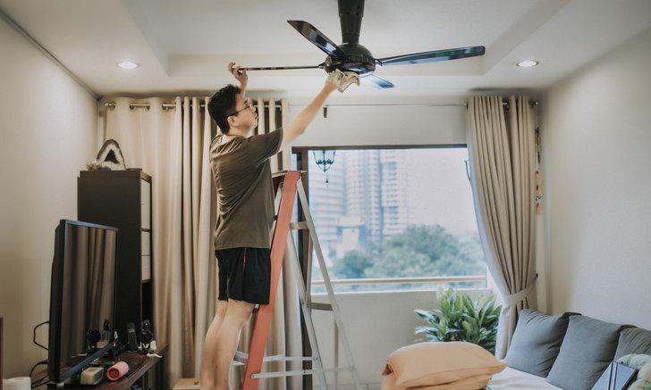 แอบอยู่ตรงไหนบ้าง 7 จุดซ่อนฝุ่นในบ้าน เข้มทำความสะอาดลดฝุ่น PM 2.5