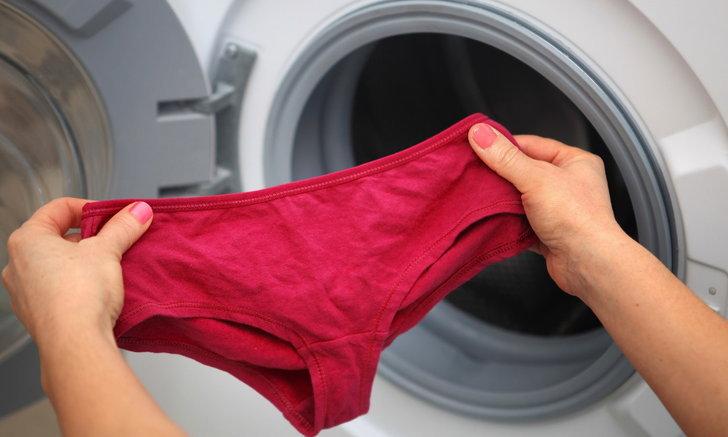 5 วิธีกำจัดคราบเป้ากางเกงชั้นใน ให้น้องสาวอุ่นใจเมื่อต้องสวมใส่อีกครั้ง