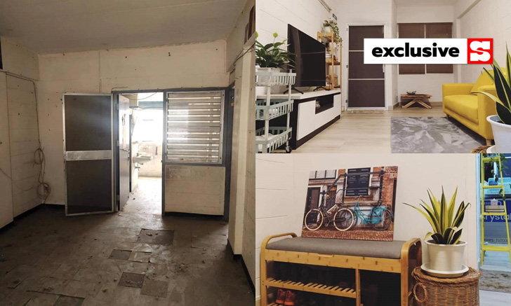 พลิกโฉมห้องพักแฟลตตำรวจ เปลี่ยนห้องเก่าโทรม ถูกทิ้ง เป็นห้องสดใสน่าอยู่ในงบ 7.5 หมื่น