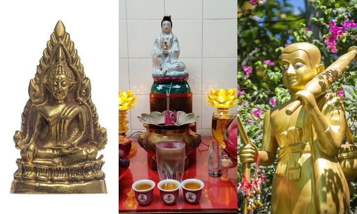 รวมไว้ให้ตรงนี้ พระพุทธรูป สิ่งศักดิ์สิทธิ์ องค์เทพที่คนนิยมบูชาไว้ในบ้าน