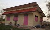 รีวิวแบบบ้านชั้นเดียวครึ่งปูนครึ่งไม้ สร้างจากไม้เก่า บ้านน้อยปลายนา
