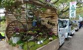 อยากจัดสวนแต่ไม่มีพื้นที่ งั้นก็เปลี่ยนท้ายรถกระบะให้กลายเป็นสวนสไตล์ญี่ปุ่นไปเลยสิ!