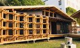 แบบเรือนไม้สไตล์ Eco ทำจากไม้สนญี่ปุ่น พร้อมเทคโนโลยีลดใช้พลังงาน เพื่อความยั่งยืน