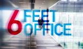 """""""สำนักงาน 6 ฟุต"""" แนวคิดออฟฟิศแบบใหม่ป้องกันโควิด-19  ทุกคนต้องนั่งห่างกัน 6 ฟุต"""