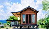 บ้านไม้จริงสำเร็จรูปโครงสร้างเหล็ก ขนาดกะทัดรัด เติมเต็มฝันคนทุกรุ่น 1 ห้องนอน 1 ห้องน้ำ