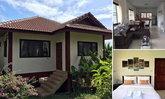 บ้านสไตล์ไทยประยุกต์ ยกพื้นสูง ตกแต่งเรียบง่ายทันสมัย อิ่มเอมไปกับบรรยากาศแห่งการพักผ่อน