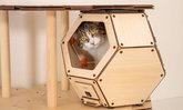แบรนด์ญี่ปุ่นออกแบบแคปซูลบ้านเหมียวสุดไฮเทค มีระบบทำความอุ่นในตัว พร้อมสร้างความฟินให้น้องแมว