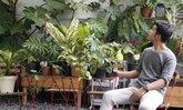 ผู้ชายเลี้ยงต้นไม้ที่หลงใหลในเสน่ห์ของ House Plant