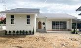 บ้านชั้นเดียวแนวมินิมอล-มูจิ ตกแต่งอบอุ่นน่าอยู่ในขนาด 3 ห้องนอน 3 ห้องน้ำ