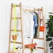 DIY ที่แขวนเสื้อผ้า