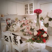 ช่อดอกไม้ในวาระพิเศษของสาวเจนี่