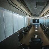 ห้องประชุมต่างๆ ที่เน้นความโปร่ง โล่ง และเรียบง่าย