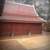 เรือนไทยสายน้ำ จามจุรี