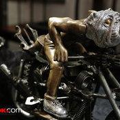 Motorbike with Bulldog บูลด็อกขี่มอเตอร์ไซค์