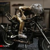 Motorbike with Boar หมูป่าขี่มอเตอร์ไซค์
