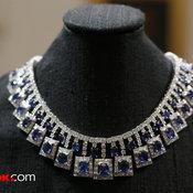 Sapphires เซ็ทเครื่องประดับพลอยไพลิน (47.47 กะรัต) จากประเทศศรีลังกา